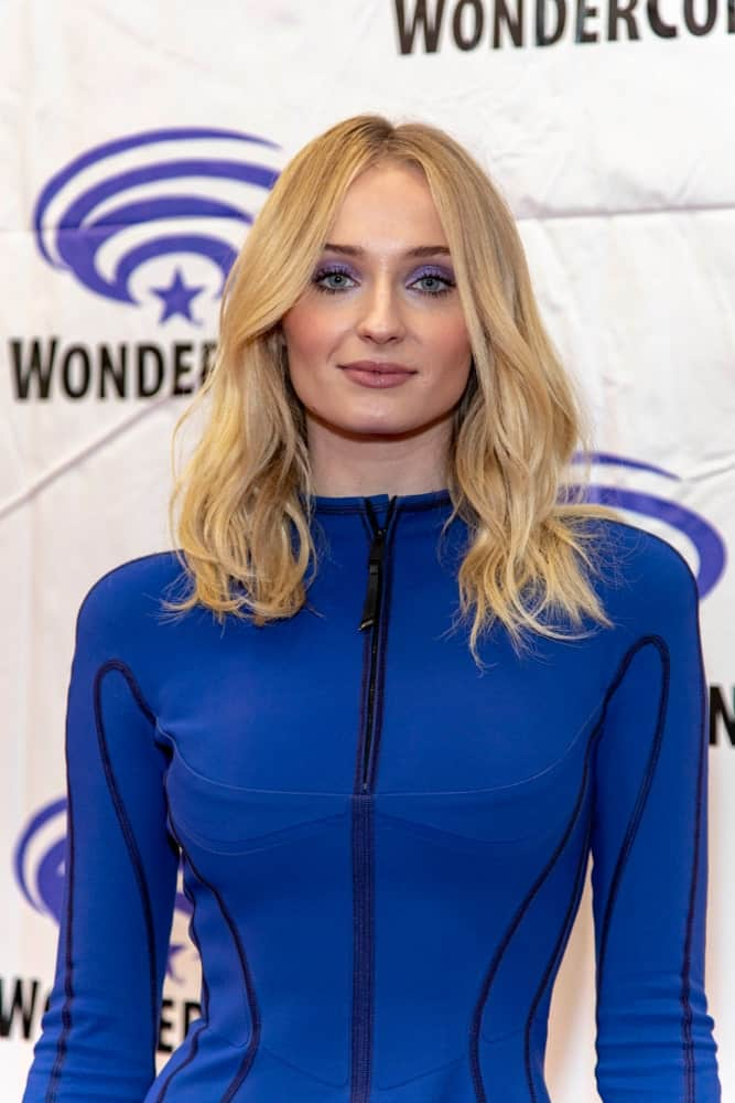 Sophie Turner made an appearance at the 2019 WonderCon - 20th Century Fox's