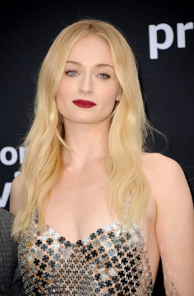 Sophie Turner looked absolutely divine in a stunning dress paired with her long blonde waves at the premiere of Amazon Prime Video's 'Chasing Happiness' held on June 3, 2019.