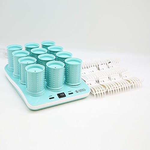 Ribbed Hot Hair Rollers