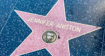 Jennifer Aniston's Hollywood Walk-of-Fame Star