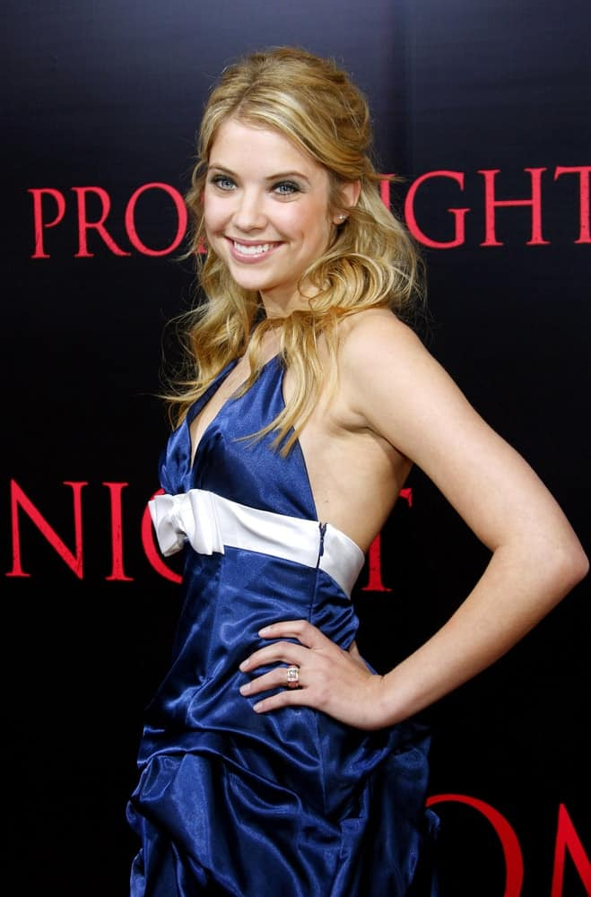 Ashley Benson attended the World Premiere of
