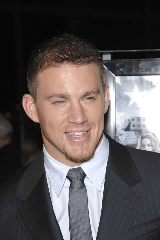 Channing Tatum attended the LA premiere of his movie