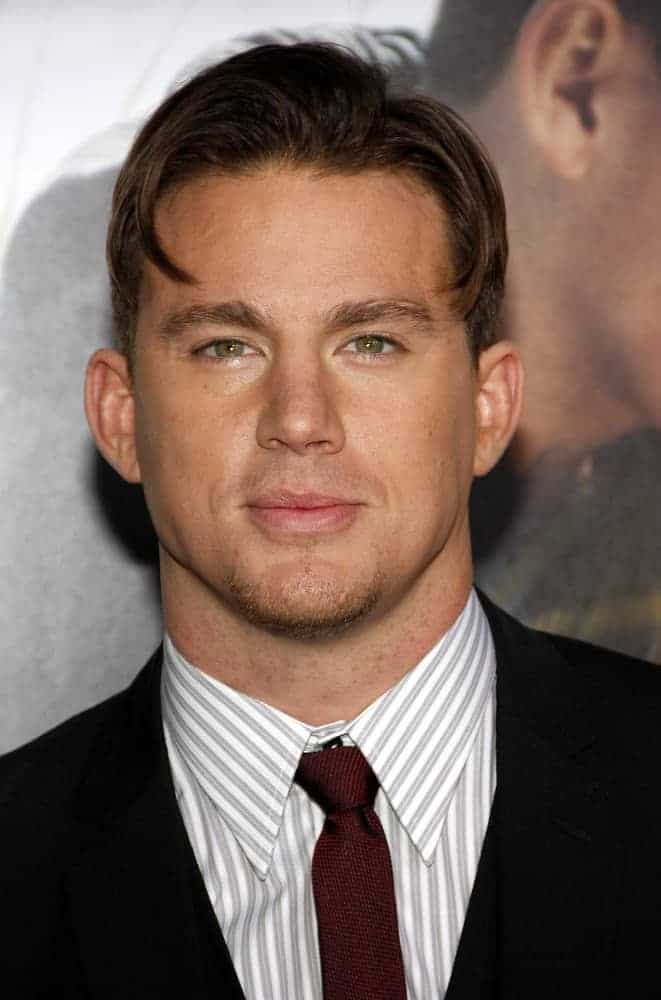 Channing Tatum attended the Los Angeles premiere of