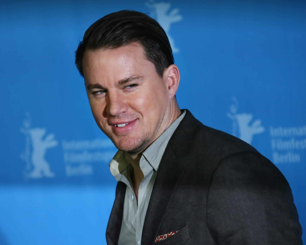 "Channing Tatum with a short slicked hair at the ""Hail, Caesar!"" photo call at the 66th Berlinale Int'l Film Festival in 2016."