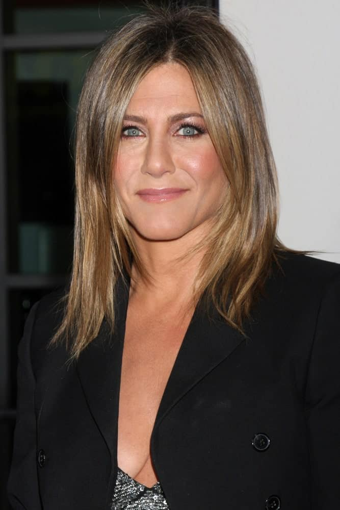 On August 27, 2014, Jeniffer Aniston attended the