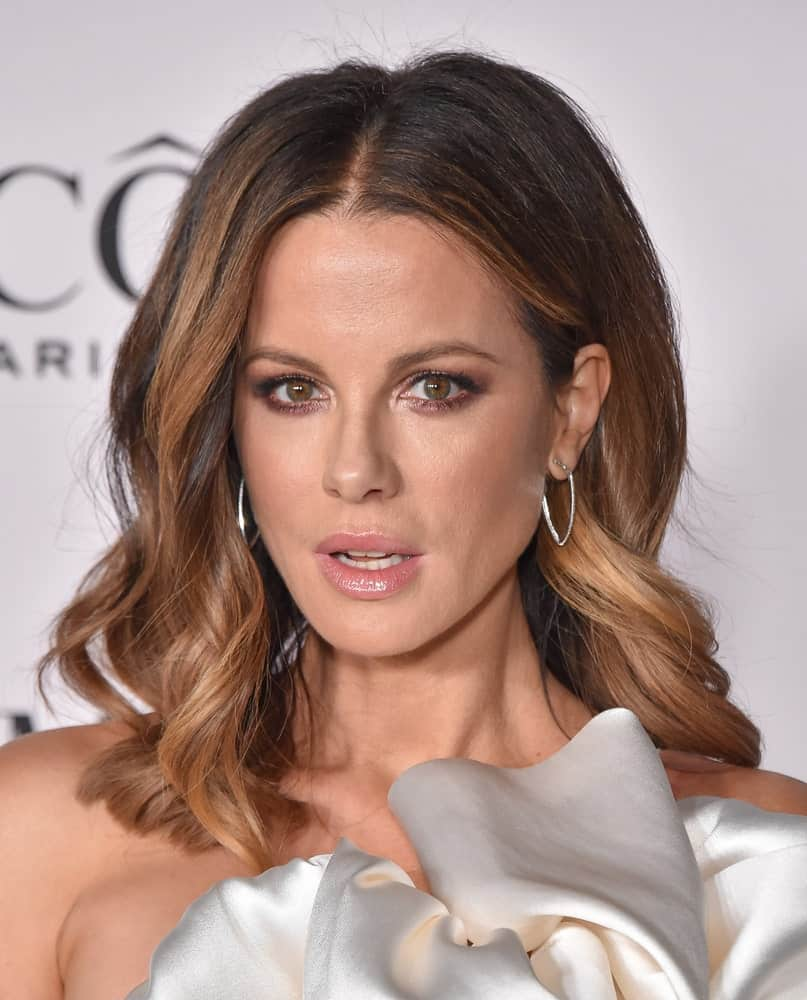 Kate Beckinsale showcased her shoulder-length waves at 'The Way Back' World Premiere on February 06, 2020.