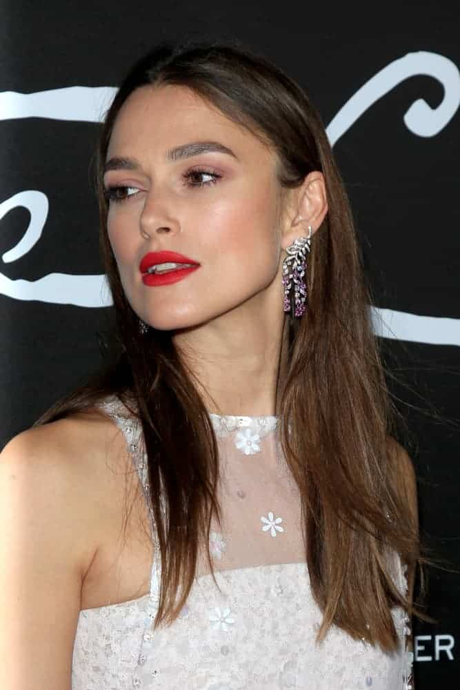 Keira Knightley attended the
