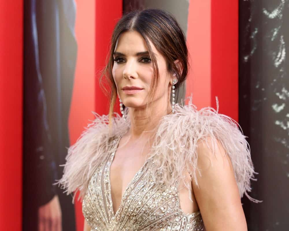 Sandra Bullock attended the premiere of