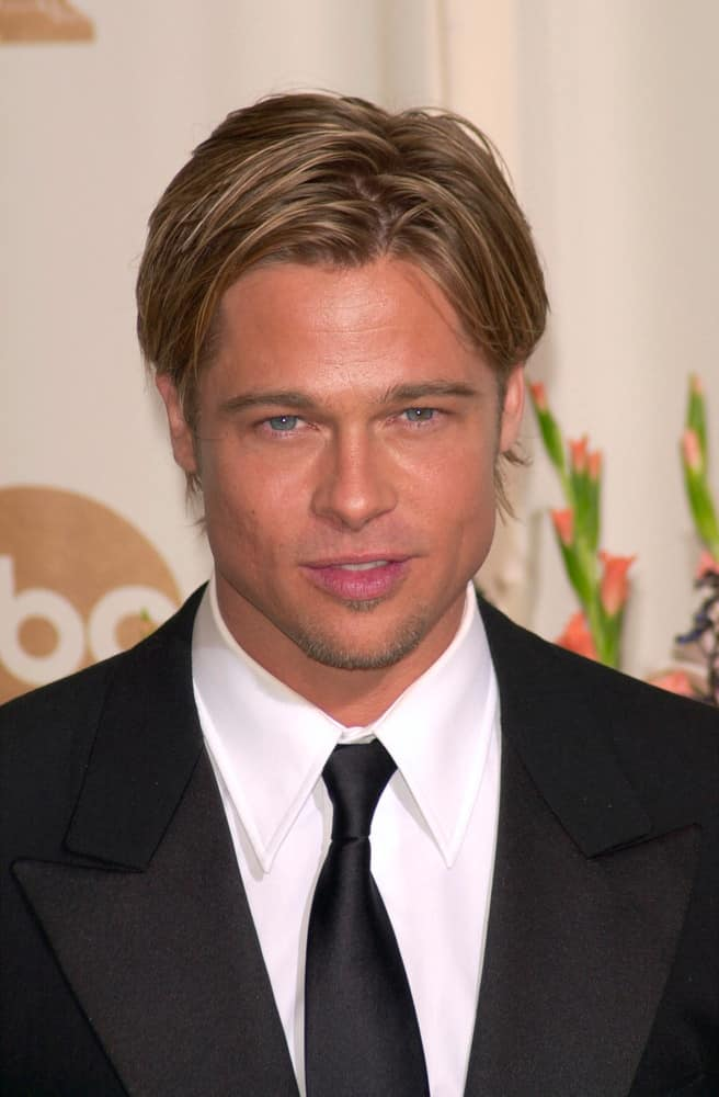 Brad Pitt\'s Hairstyles Over the Years - Headcurve