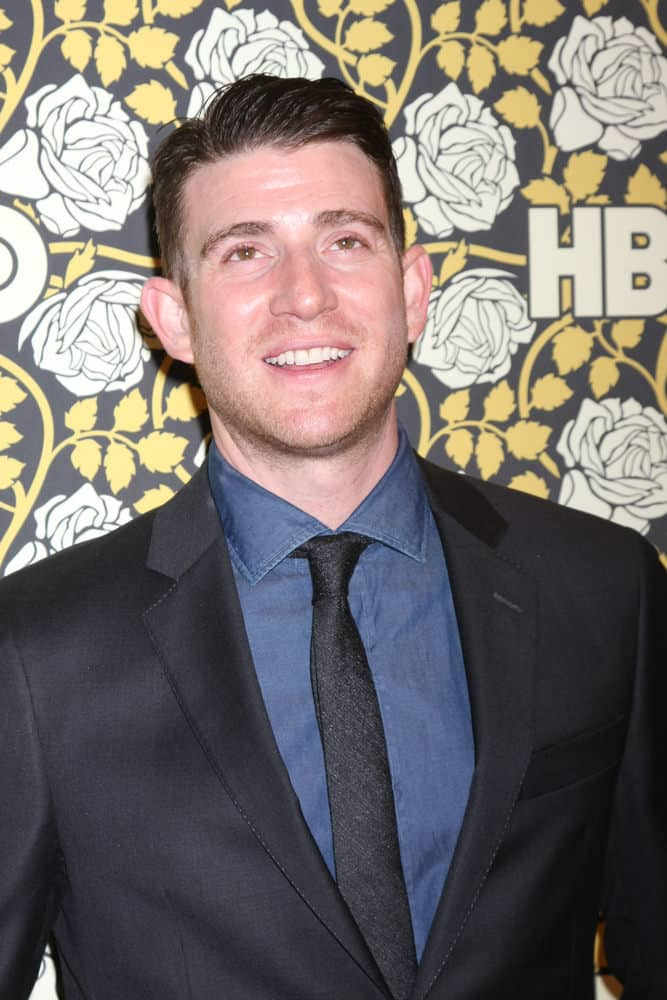 Bryan Greenberg sported his signature short slick side-swept hairstyle at the HBO Golden Globes After Party 2016 in Beverly Hills, CA.