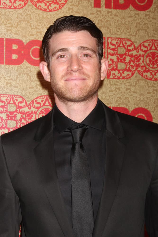 Bryan Greenberg didn't comb back his wavy hair but not a strand fell out of place when he attended the HBO 2014 Golden Globe Party at the Beverly Hilton Hotel.
