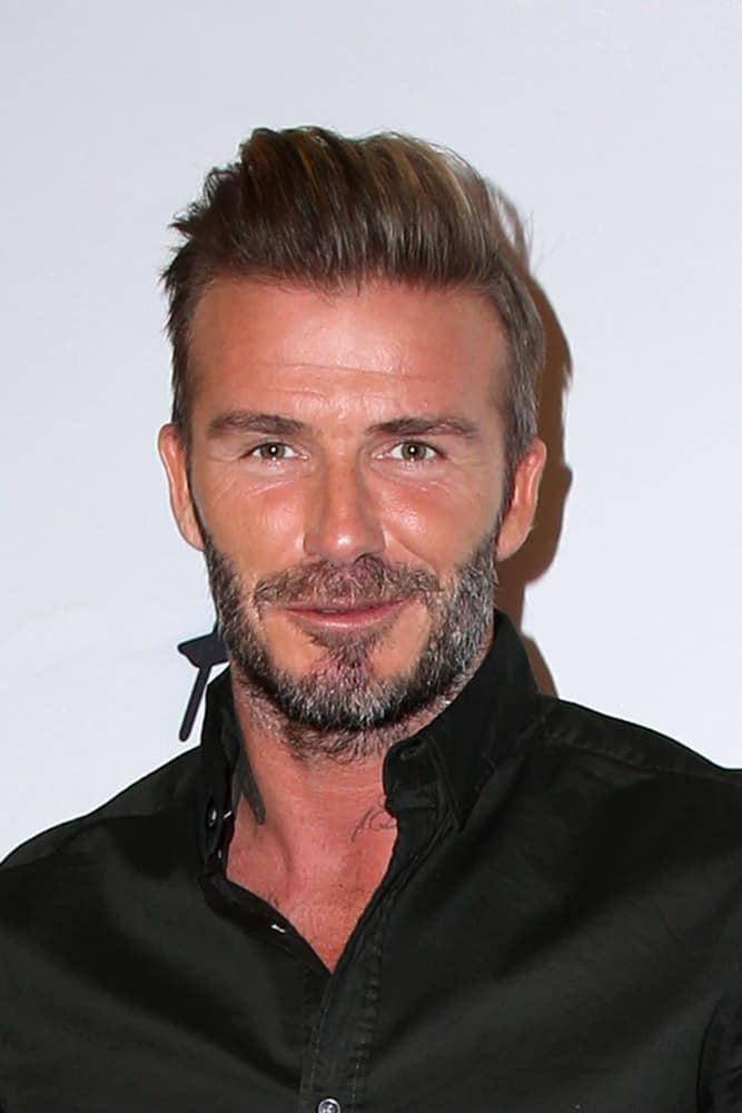 David Beckhams Hairstyles Over The Years Headcurve