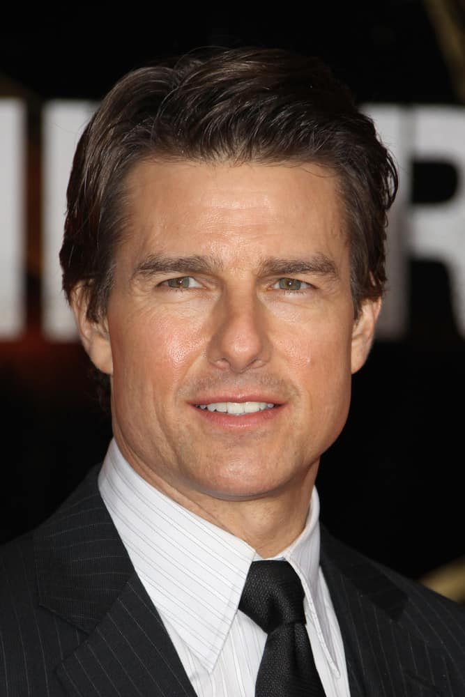 Tom Cruise the premiere of
