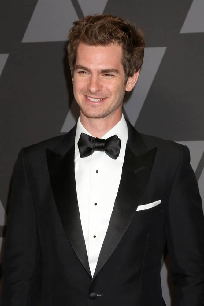 The actor exhibited a tousled hairstyle with his brown locks during the AMPAS 9th Annual Governors Awards at Dolby Ballroom on November 11, 2017.