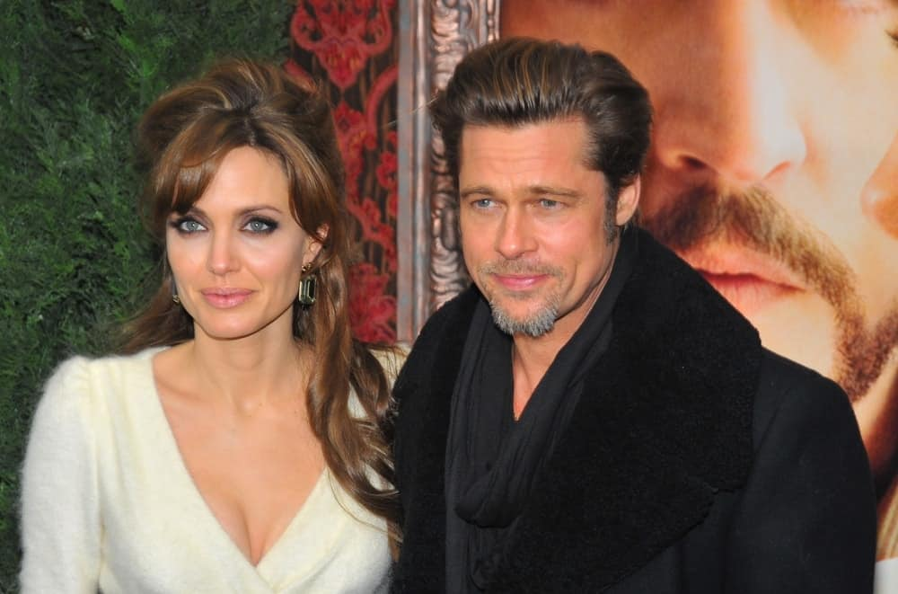 Brad Pitt and Angelina Jolie were at