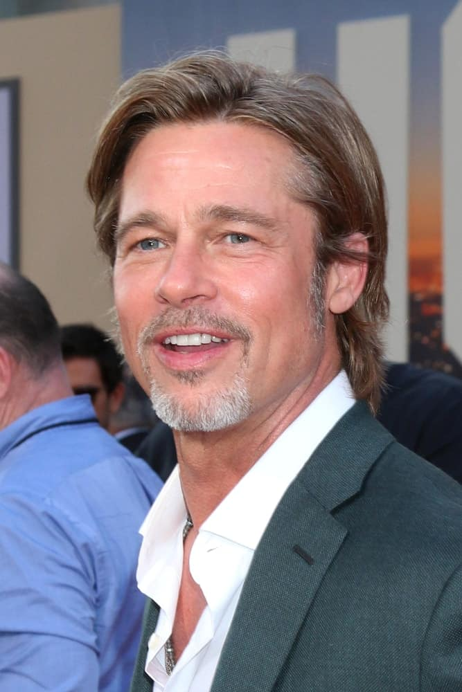 Brad Pitt S Hairstyles Over The Years
