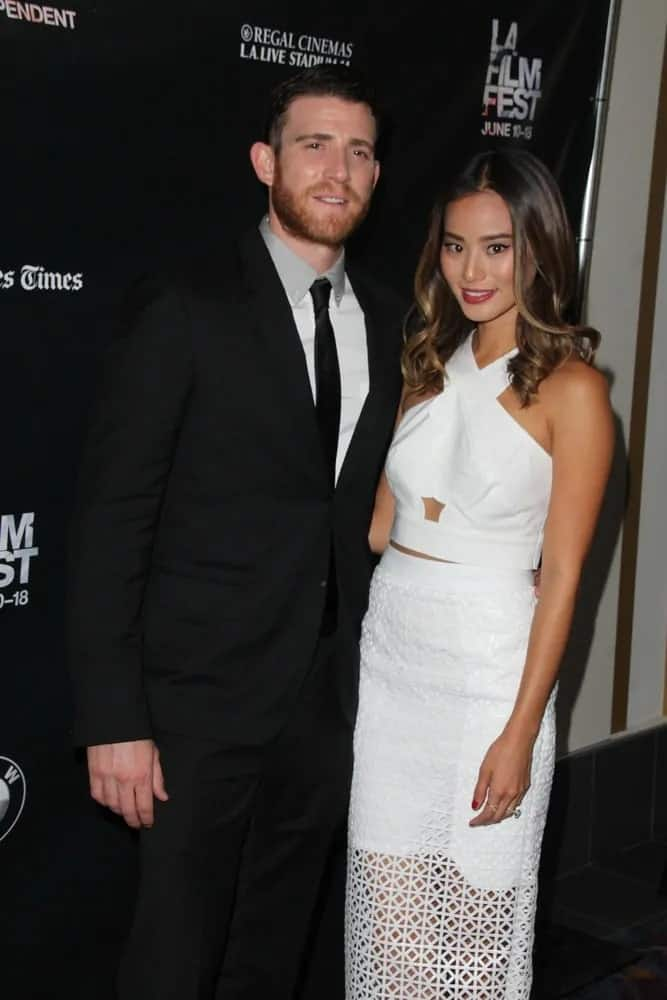 Bryan Greenberg was with his wife Jamie Chung at the