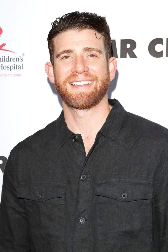 Bryan Greenberg was at the SAINT Modern Prayer Candles For A Cause Launch at Mr. Chow last June 4, 2019 in Beverly Hills, CA. He went in a casual black button-down shirt to complement his slick brushed-back undercut.