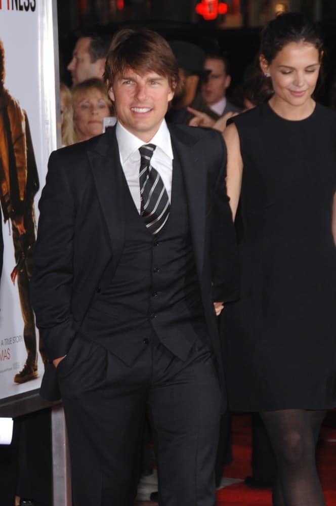 Tom Cruise and his wife were at the world premiere of