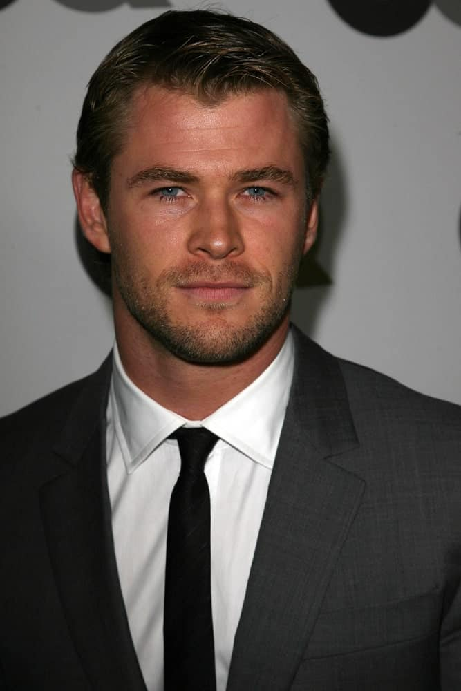 Chris Hemsworth was at the GQ 2010