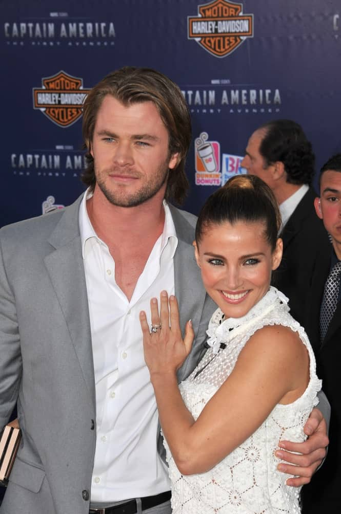 Chris Hemsworth & wife Elsa Pataky were at the premiere of