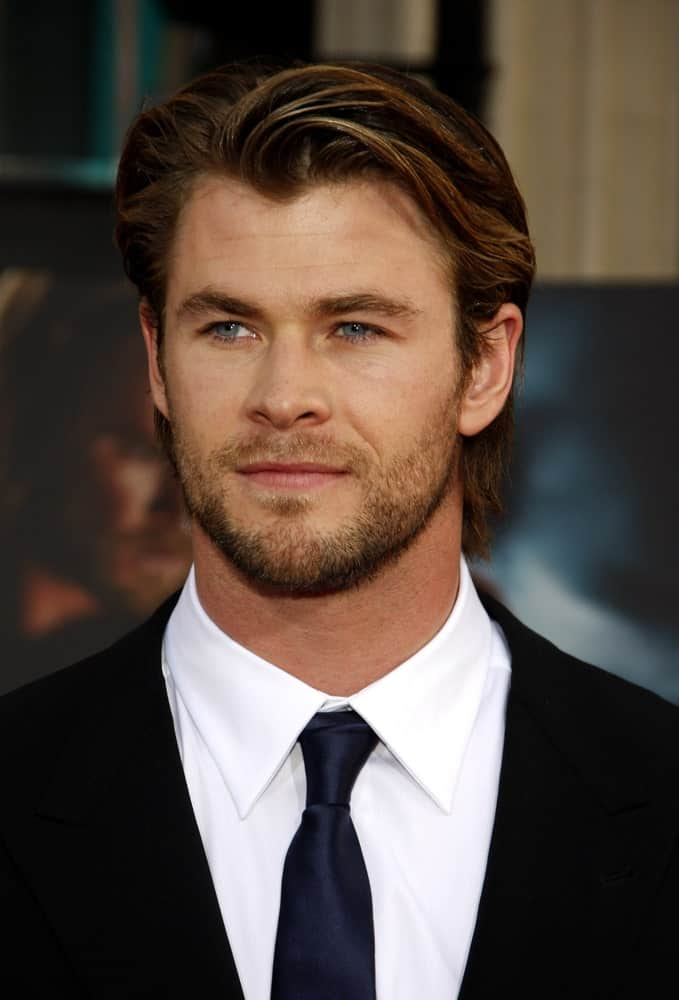 Last May 2, 2011, Chris Hemsworth was at the Los Angeles premiere of