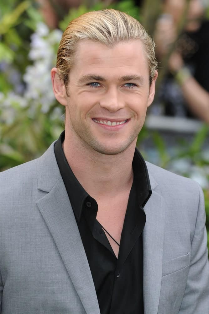 Chris Hemsworth attended the premiere of