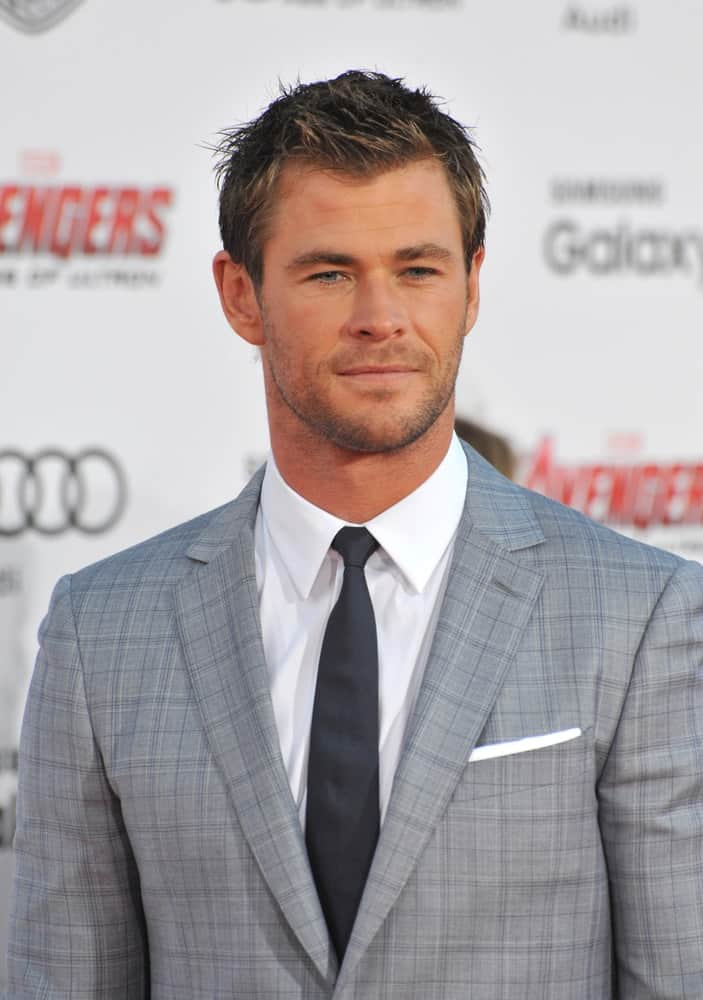 Last April 13, 2015, Chris Hemsworth atteneded the world premiere of his movie