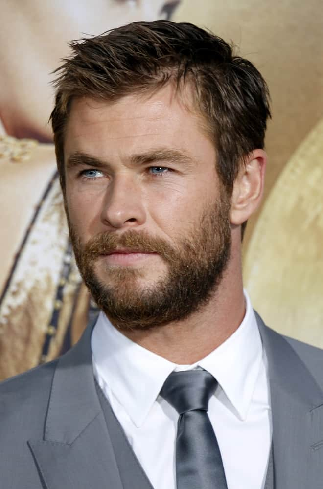 Chris Hemsworth was at the April 11, 2016 US premiere of