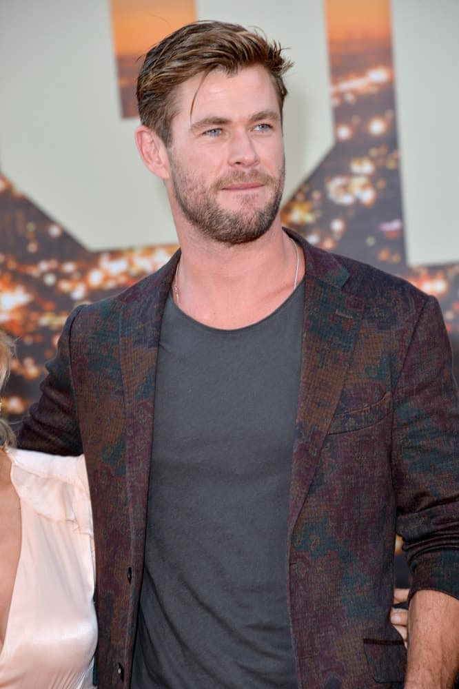 Last July 23, 2019, Chris Hemsworth was at the premiere of
