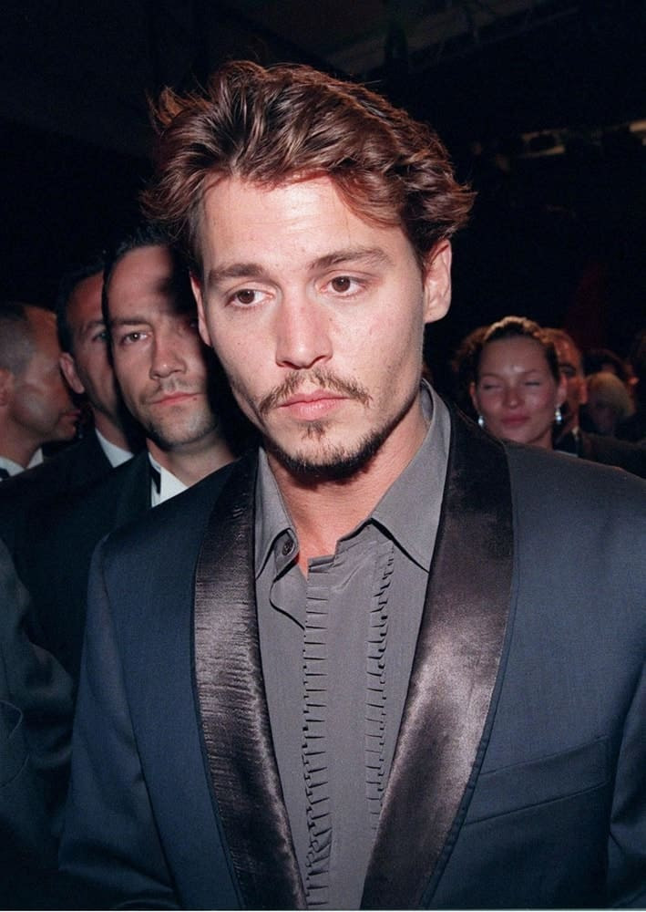 Last May 15, 1998, Actor Johnny Depp was at the Cannes Film Festival to promote his movie,