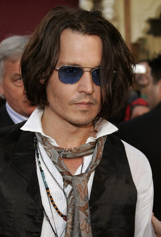 Johnny Depp attended the World Premiere of