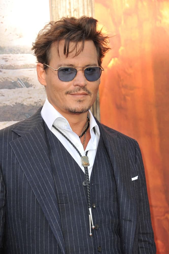 Last June 22, 2013, Johnny Depp attended the world premiere of his new movie