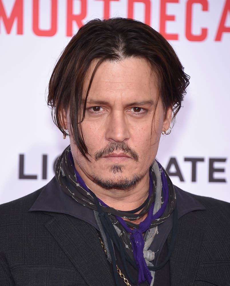 Johnny Depp was seen at the