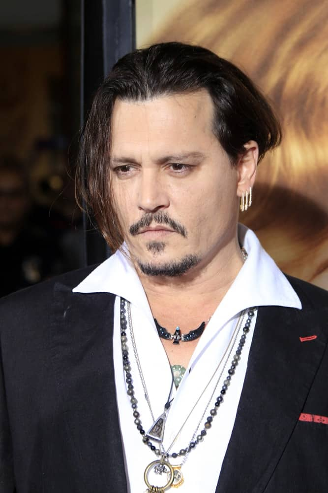 Johnny Depp was at the