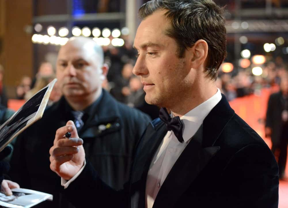 Jude Law was at the 63rd Annual Berlinale International Film Festival