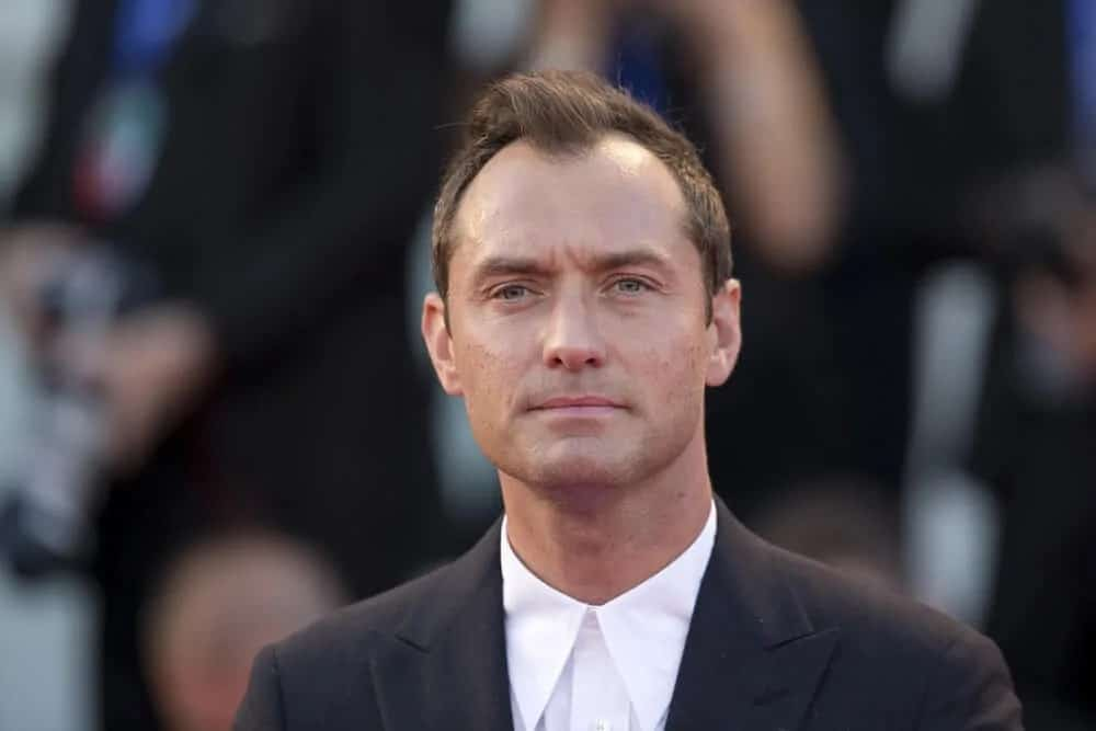 Back in 2016, Jude Law maximized the sexy factor of his receding hairline with a stylish tossed up hairstyle at the 'The Young Pope' premiere at the 73rd Venice Film Festival in Palazzo del Casino in Venice, Italy.