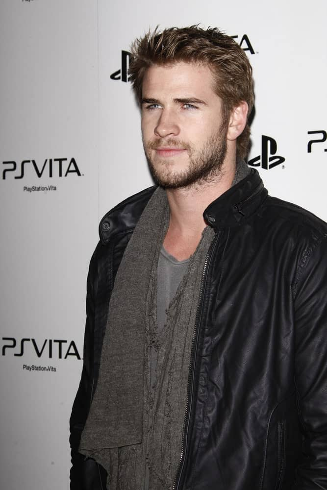 The actor was seen at the Sony PlayStationAE Unveils PS VITA Portable Entertainment System at Siren Studios on February 15, 2012 with a spiky hairstyle complemented by his full beard.