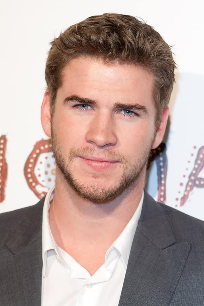The Australian actor rocked a short haircut with some spikes in front during the Nomad Two Worlds Los Angeles debut gala last February 22, 2011.