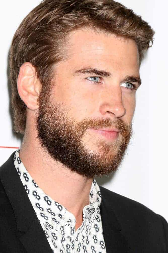 Liam Hemsworth with fixed short hair at the 10th Annual GO Campaign Gala at the Manuela at Hauser Wirth & Schimmel on November 5, 2016 in Los Angeles, CA