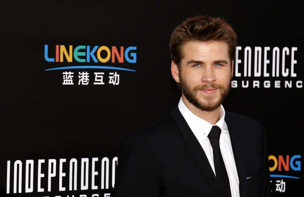 Liam Hemsworth at the