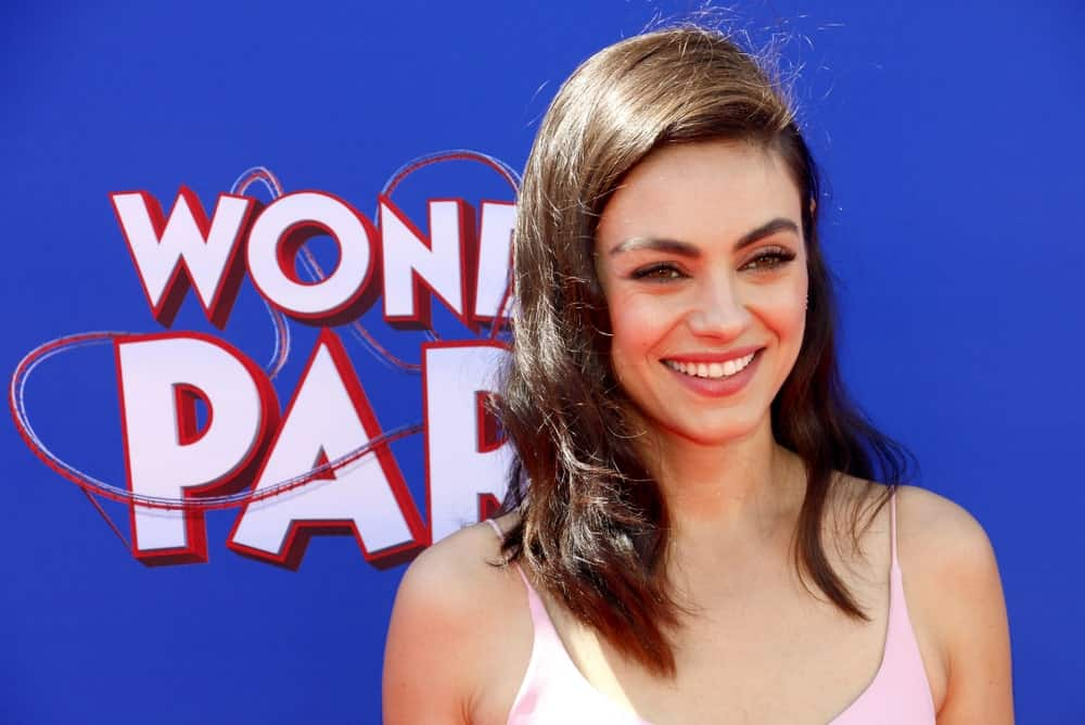 Mila Kunis was at the World premiere of 'Wonder Park' held at the Regency Bruin Theatre in Westwood last March 10, 2019. She had a bright smile to match her side-swept tousled and wavy hair.