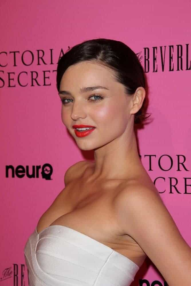 Miranda Kerr looking prim, proper and sexy all at the same time with this polished, short-length hairstyle worn last May 12, 2011 during the release of the 2011 What Is Sexy? list and the Kick Off the Bombshell Summer Tour.