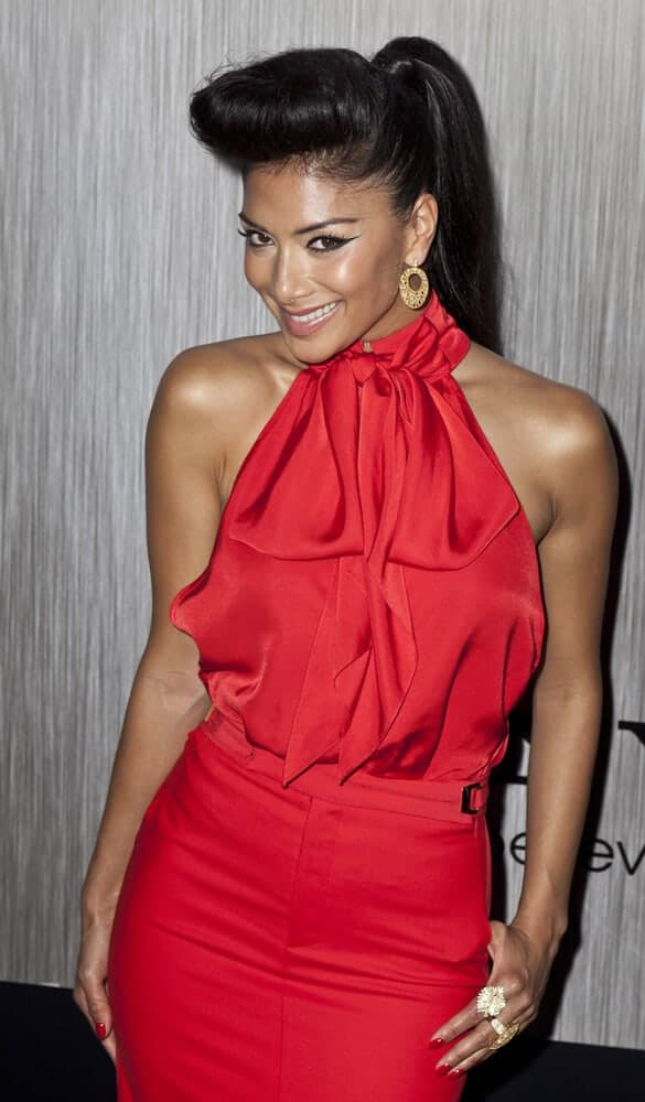 This ponytail with a partial bouffant in front is an iconic look worn by Nicole Scherzinger during the the 'Men In Black 3' New York Premiere at Ziegfeld Theatre on May 23, 2012.