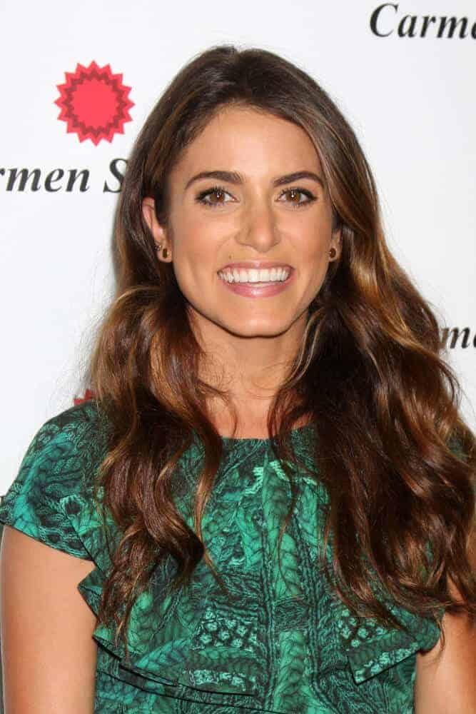 Nikki Reed attended the Carmen Steffens West Coast Flagship Store Opening last August 2, 2012 in a simple, loose hairstyle, maintaining her sweet but confident aura.