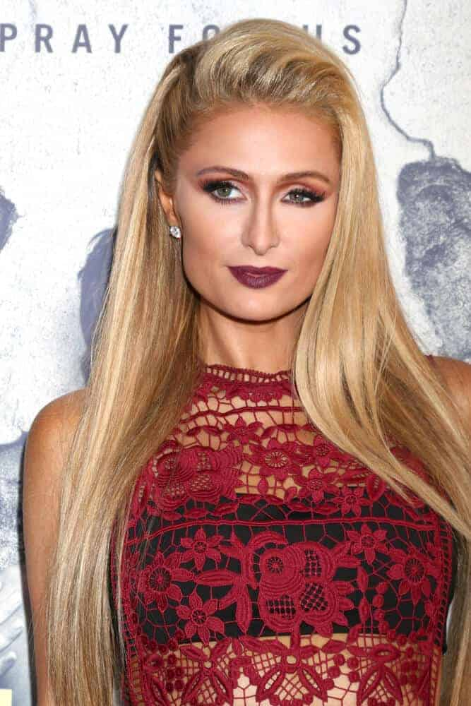 Paris Hilton slayed the Premiere Of HBO's