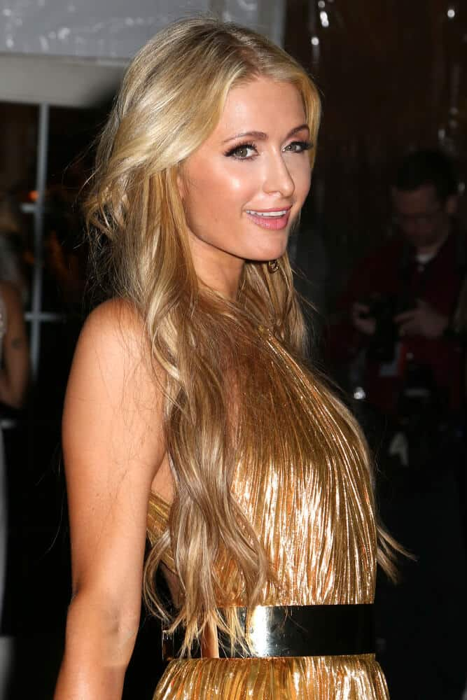 Paris Hilton portrayed the beautiful intersection between high-fashion outfit and a casual, loose hairdo. This mesmerizing look of hers was seen last February 8, 2017, during the amfAR Gala at Cipriani Wall Street, NYC.