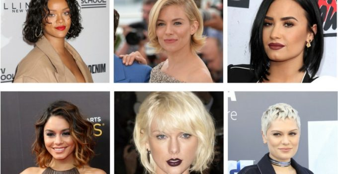 Female celebrities with short hairstyles