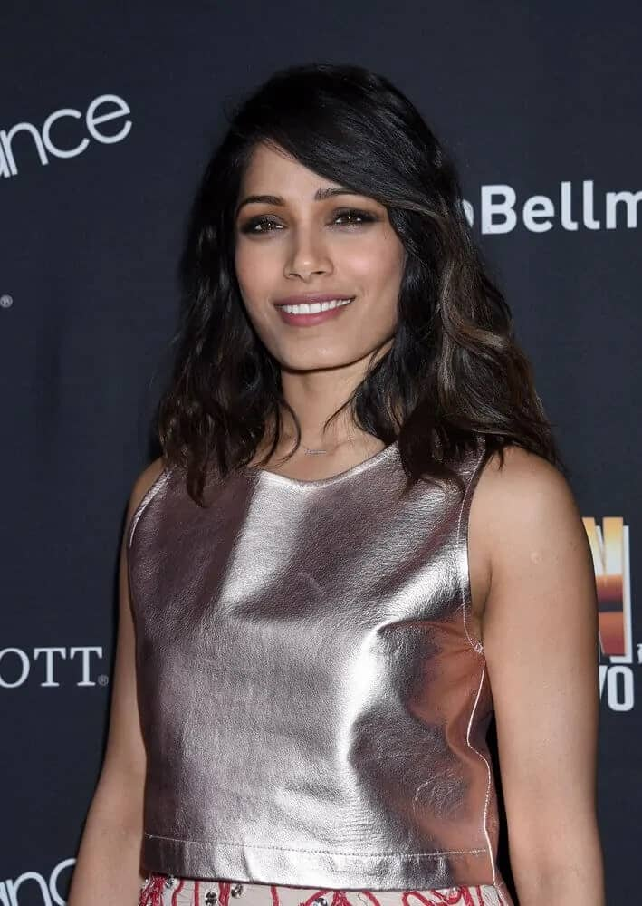 Freida Pinto was at the