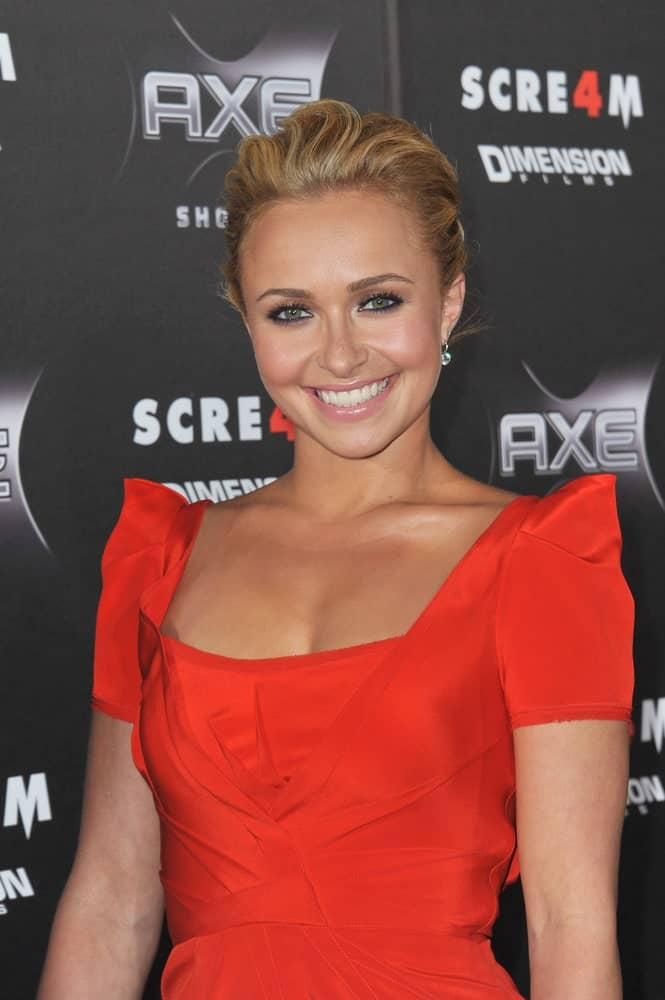 Hayden Panettiere slayed the red carpet at the world premiere of her new movie